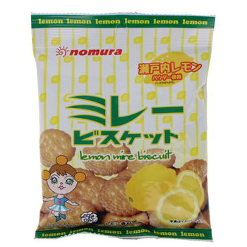 """""""Mire"""" little biscuits with lemon from Japan 70g"""