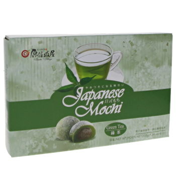 Japanese style mochi with green tea 210g (6p)