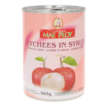 Lychees in syrup 565g