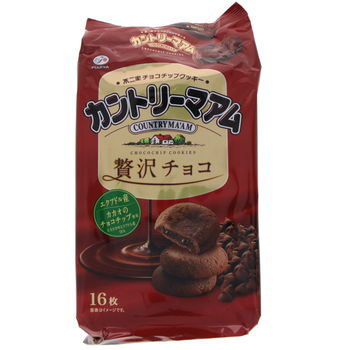Biscuits japonais Country Ma'am - Chocolat 169g