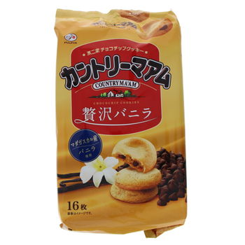 Biscuits japonais Country Ma'am - Vanille 169g