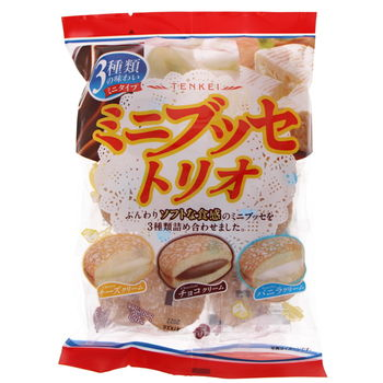 Japanese little cakes - 3 flavours 140g