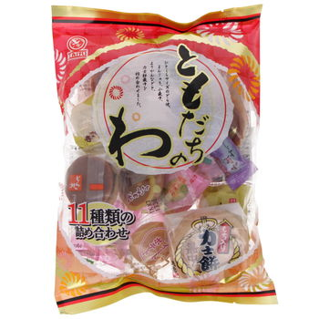 Japanese traditional little cakes - 11 flavours 250g