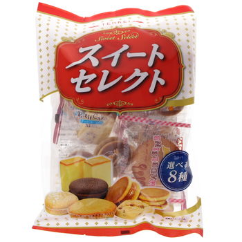 Japanese little cakes - Selection 198g