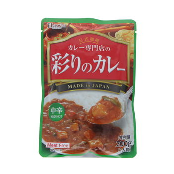 Instant curry with vegetables - Medium hot 200g