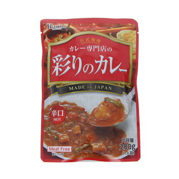 Instant curry with vegetables - Hot 200g