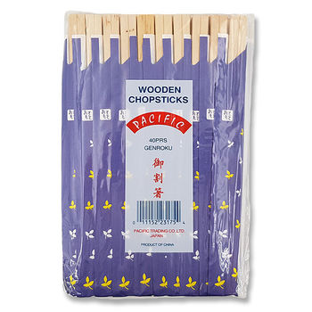 Wooden chopsticks x40
