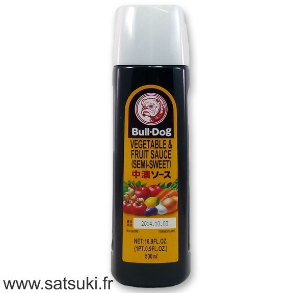 Bull-Dog chuno sauce 500ml