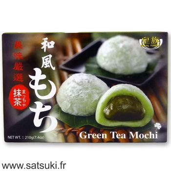 Mochi with green tea 210g