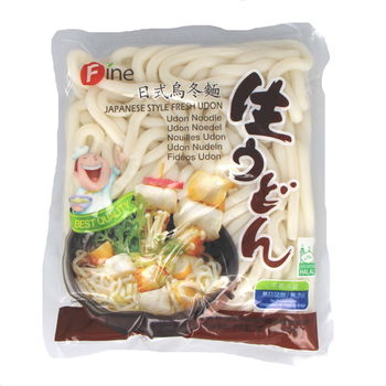 Fresh boiled nama udon noodles 200g