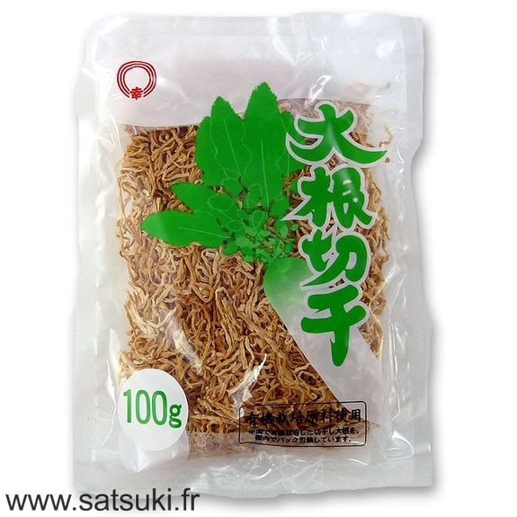 Shredded white radish 100g