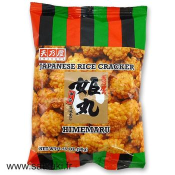 Fried rice crackers 98g