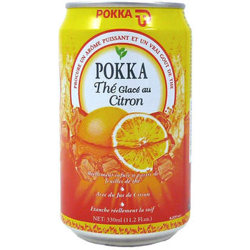 Pokka citron tea 33cl can