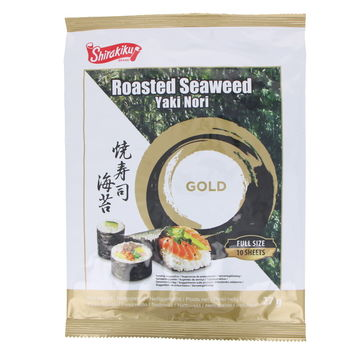 Nori seaweed for sushi - very high quality x10