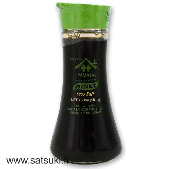 Less salt Soy sauce with dispenser 150ml