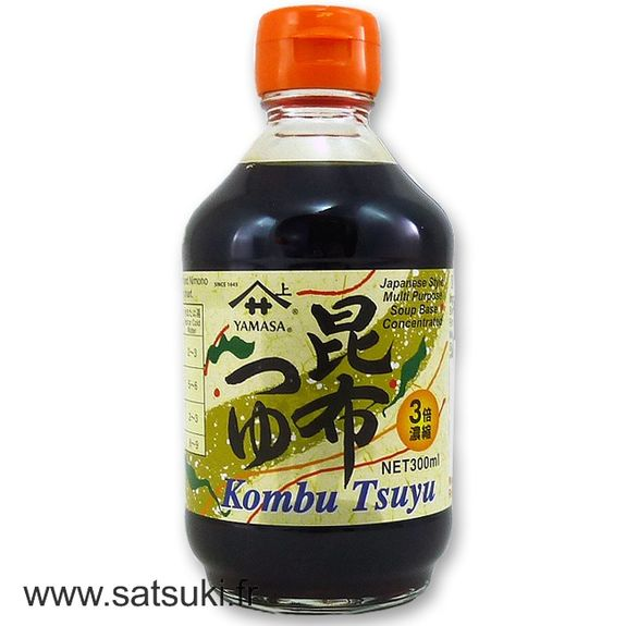 Soup base concentrated bonito and kombu flovoured 300ml