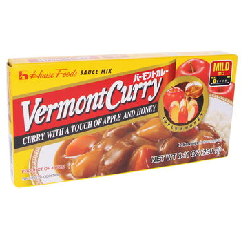 Curry japonais Vermont doux 230g (12 portions)