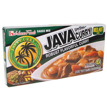 Java curry sauce mix Medium Hot 185g