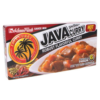 Curry japonais Java Curry hot 185g | Satsuki.fr