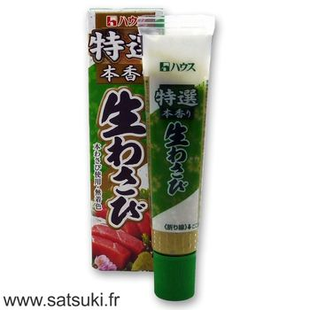 Wasabi paste high quality 43g - Satsuki