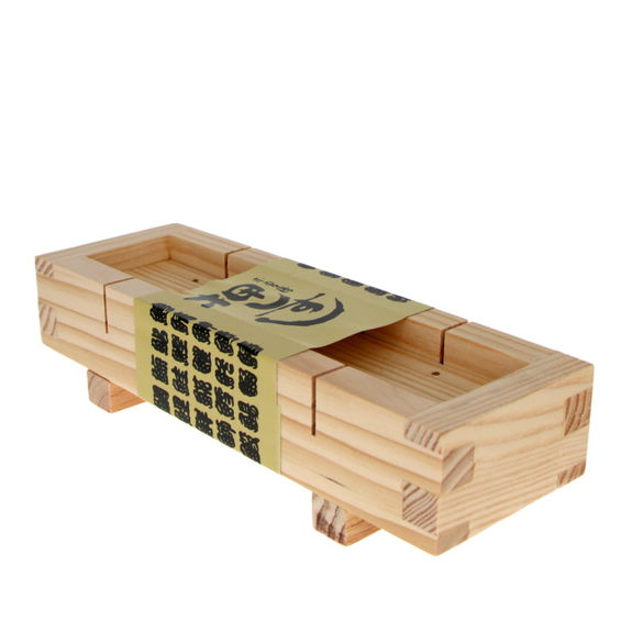 Wooden mould for Oshizushi