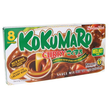 Curry japonais Kokumaro moyen 140g (8 portions)