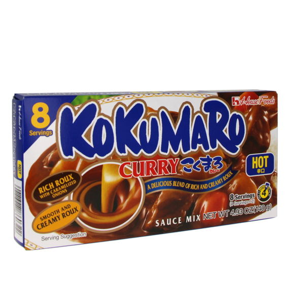 Curry japonais Kokumaro fort 140g (8 portions)