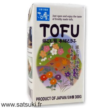 Silken tofu mid-firm 300g from Japan