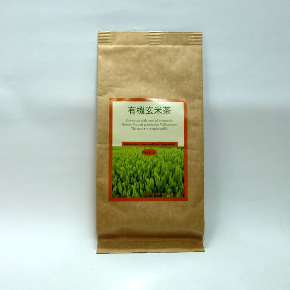 Shizuoka free additive genmaicha brown rice tea 100g