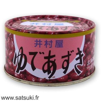 sweetened azuki 210g