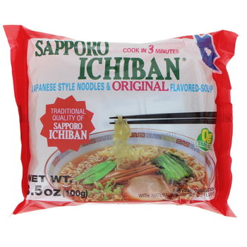 "Japanese ramen noodles with soy sauce ""Original"" 100g"