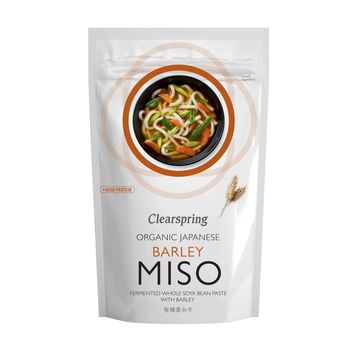 Clearspring organic unpasteurised barley miso 300g pouch