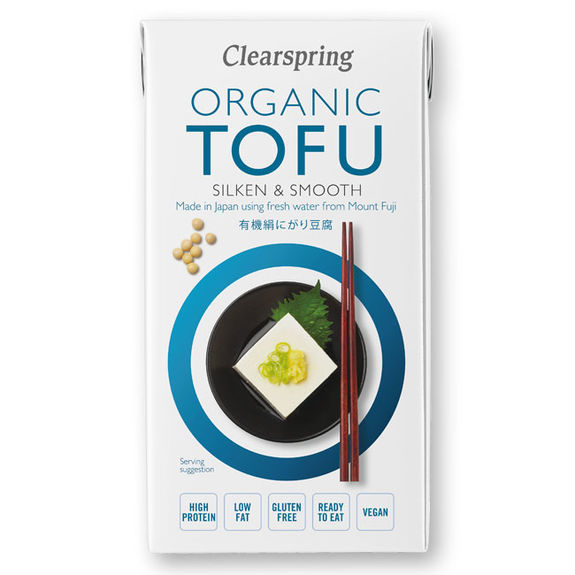 Organic silken firm tofu 300g - from Japan