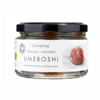 Clearspring organic pickled ume with red perilla 200g