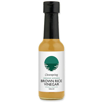 Organic traditional brown rice vinegar 150ml