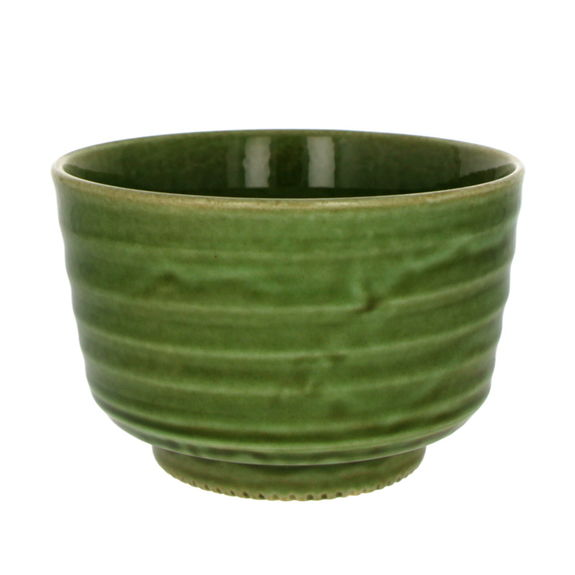 Green matcha bowl