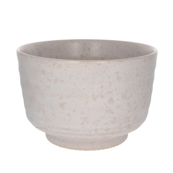 White matcha bowl