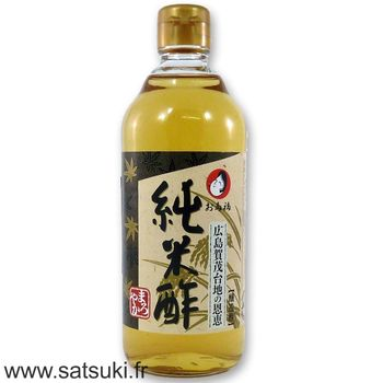 Pure rice vinegar 500ml