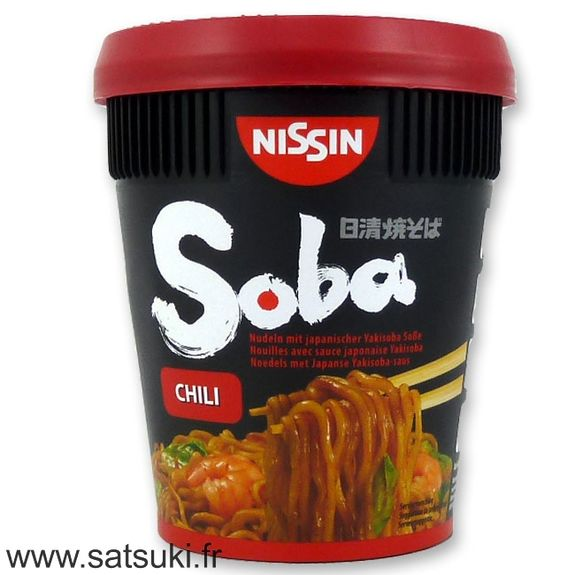 Yakisoba cup noodles 92g - Chili flavour