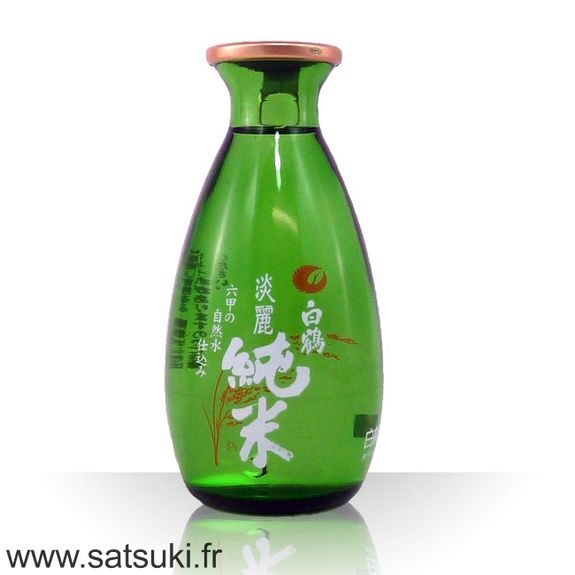 Premium hot sake tanrei junmai 13.5% - 180ml
