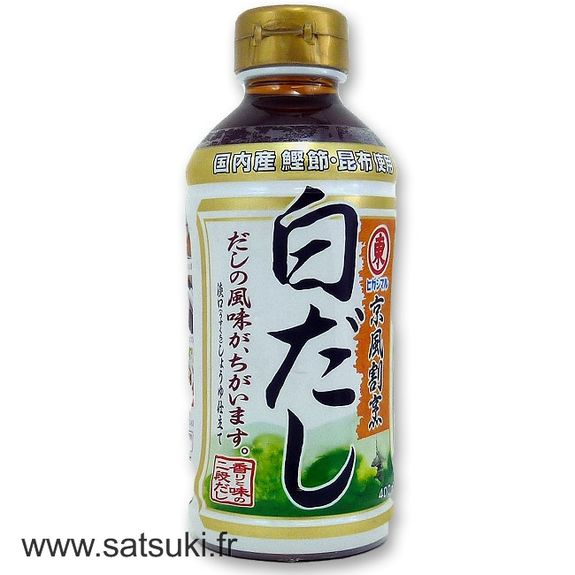 Shiro dashi in 400ml bottle