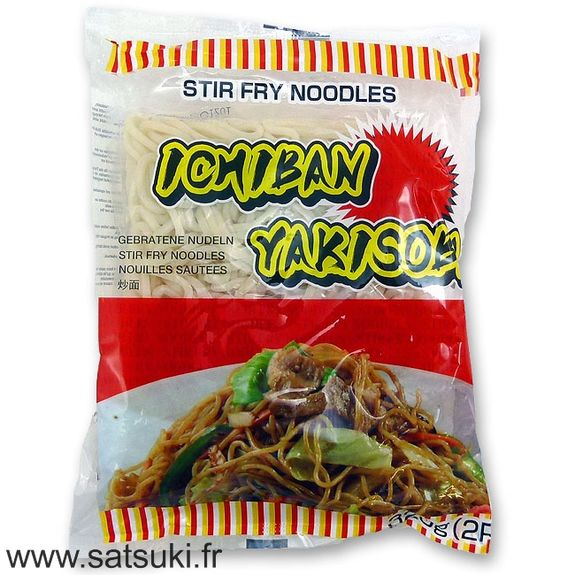 Yakisoba précuits et sauces (2 portions)