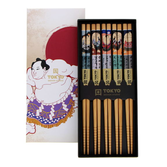 Set 5 pairs of chopsticks