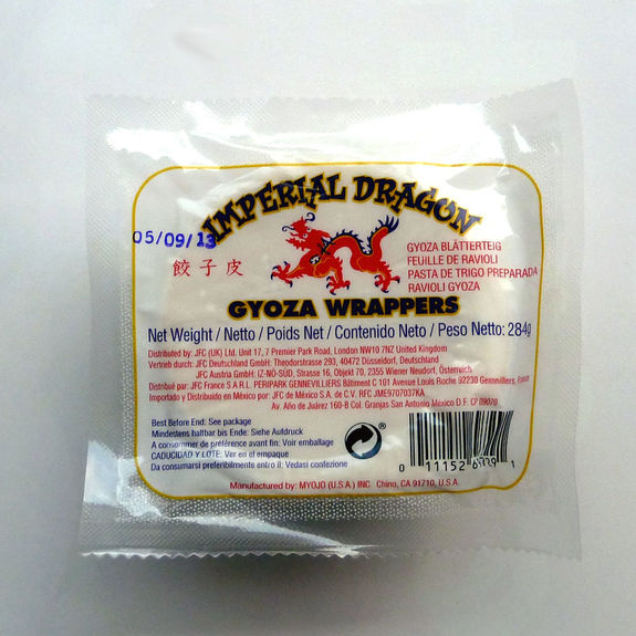 Gyoza wrappers 284g