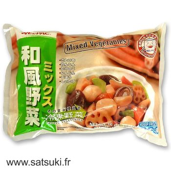 Welpack japanese vegetables mix 454g