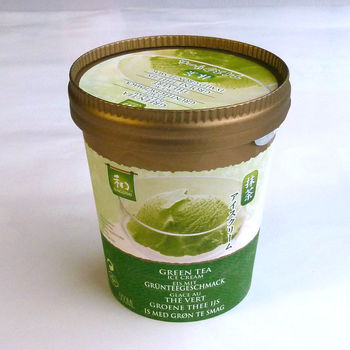 Green tea ice cream 500ml