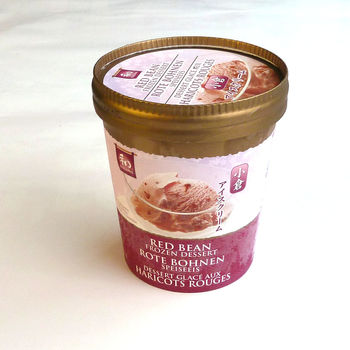 Azuki red bean ice cream 500ml