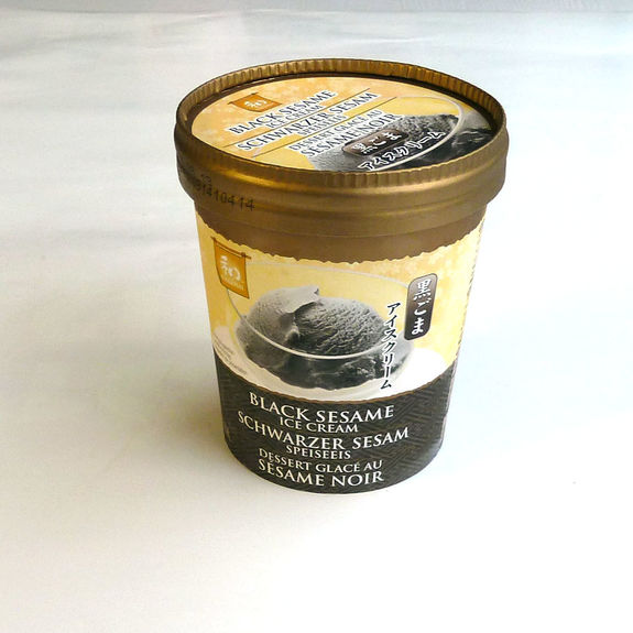 Black sesame ice cream 500ml