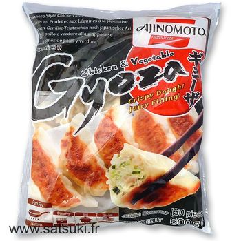Gyoza chicken and vegetables 600g Ajinomoto