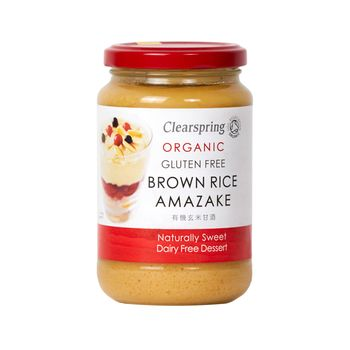 Organic brown rice amazake 380g